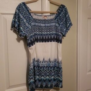 Dress barn peasant top 1x